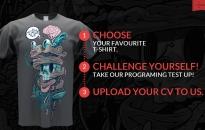 FreeTee 4 IT - дизайнерски дрехи за ИТ таланти