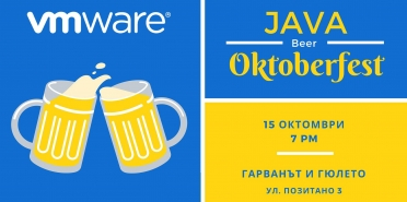 Java Beer, Sofia, 15.10.2019