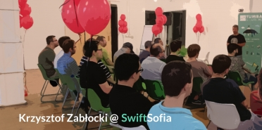 iOS Application Architecture with Krzysztof Zabłocki @SwiftSofia