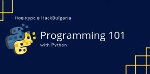 Programming 101 with Python