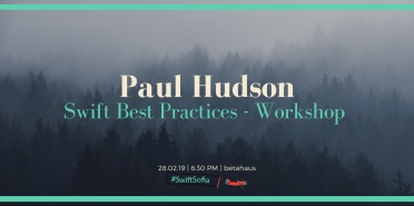 Swift Best Practices - workshop by Paul Hudson at #SwiftSofia