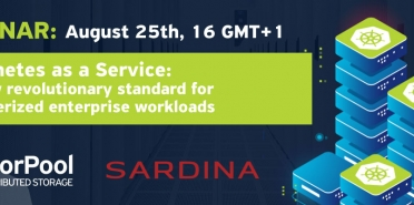 Webinar Kubernetes as a Service: The new revolutionary standard for containerized enterprise workloads
