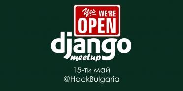 Django meetup - May edition