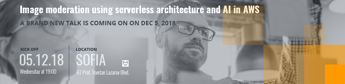 Image moderation using serverless architecture and AI in AWS