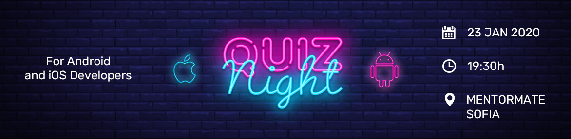Quiz Night for Mobile Devs