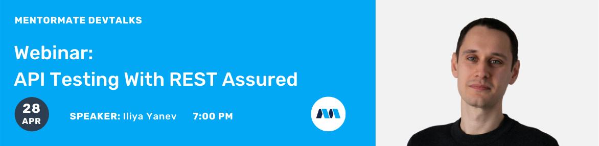 Webinar: API Testing With REST Assured