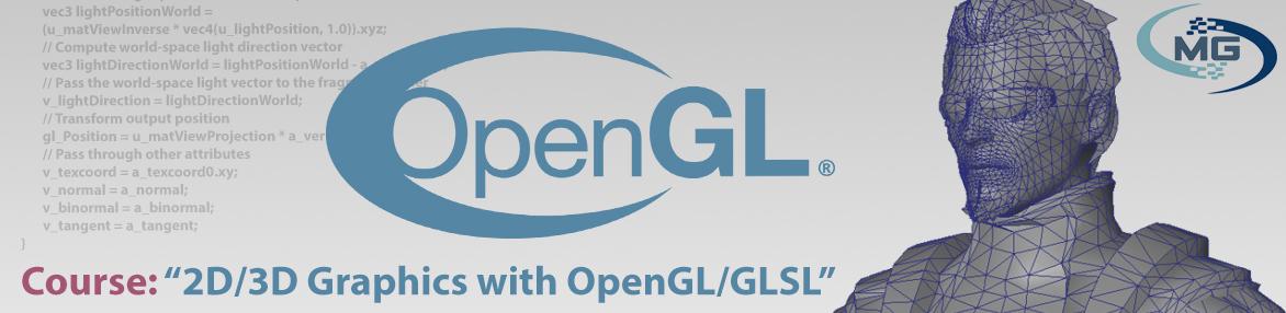 Курс: 2D/3D графика с OpenGL/GLSL